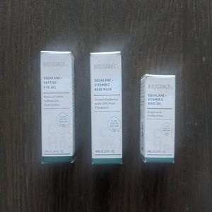 Biossance Clean Skincare Trio